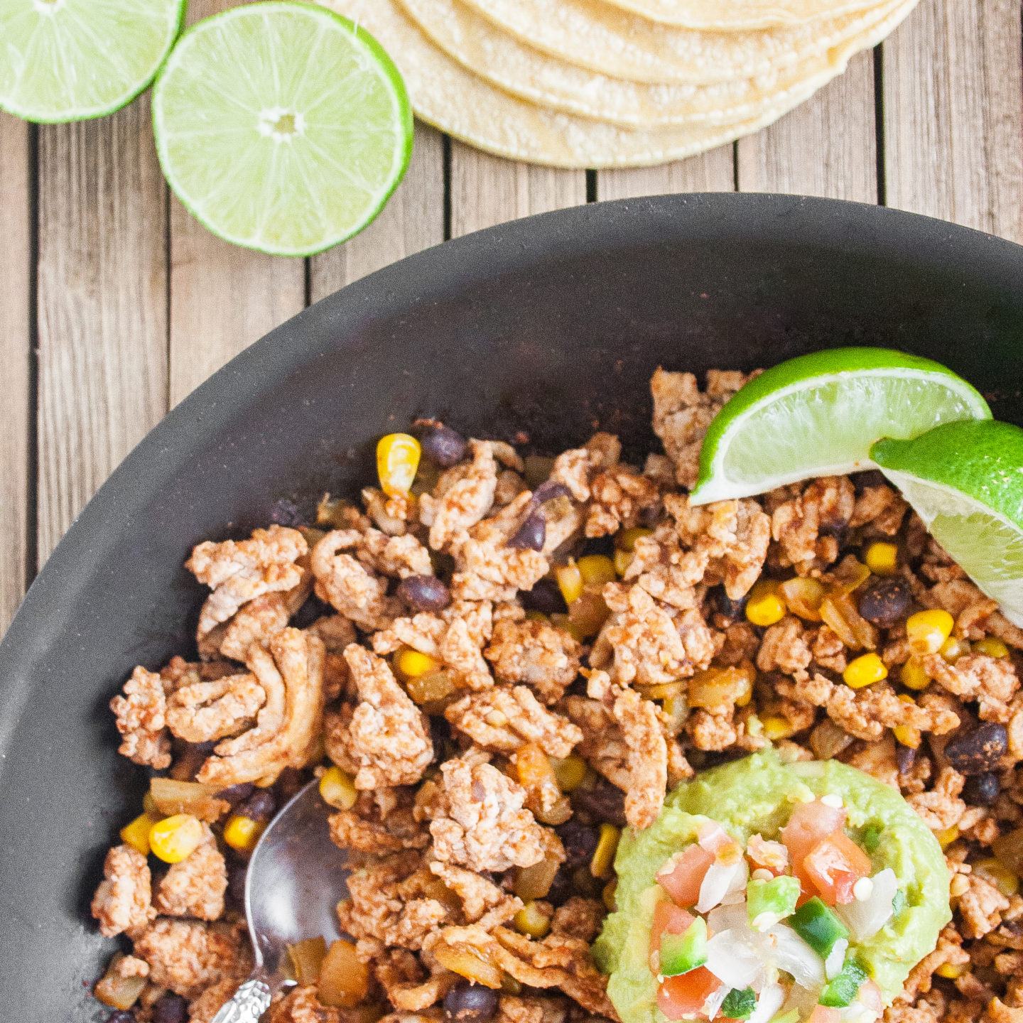 Easy One Skillet Mexican Chicken