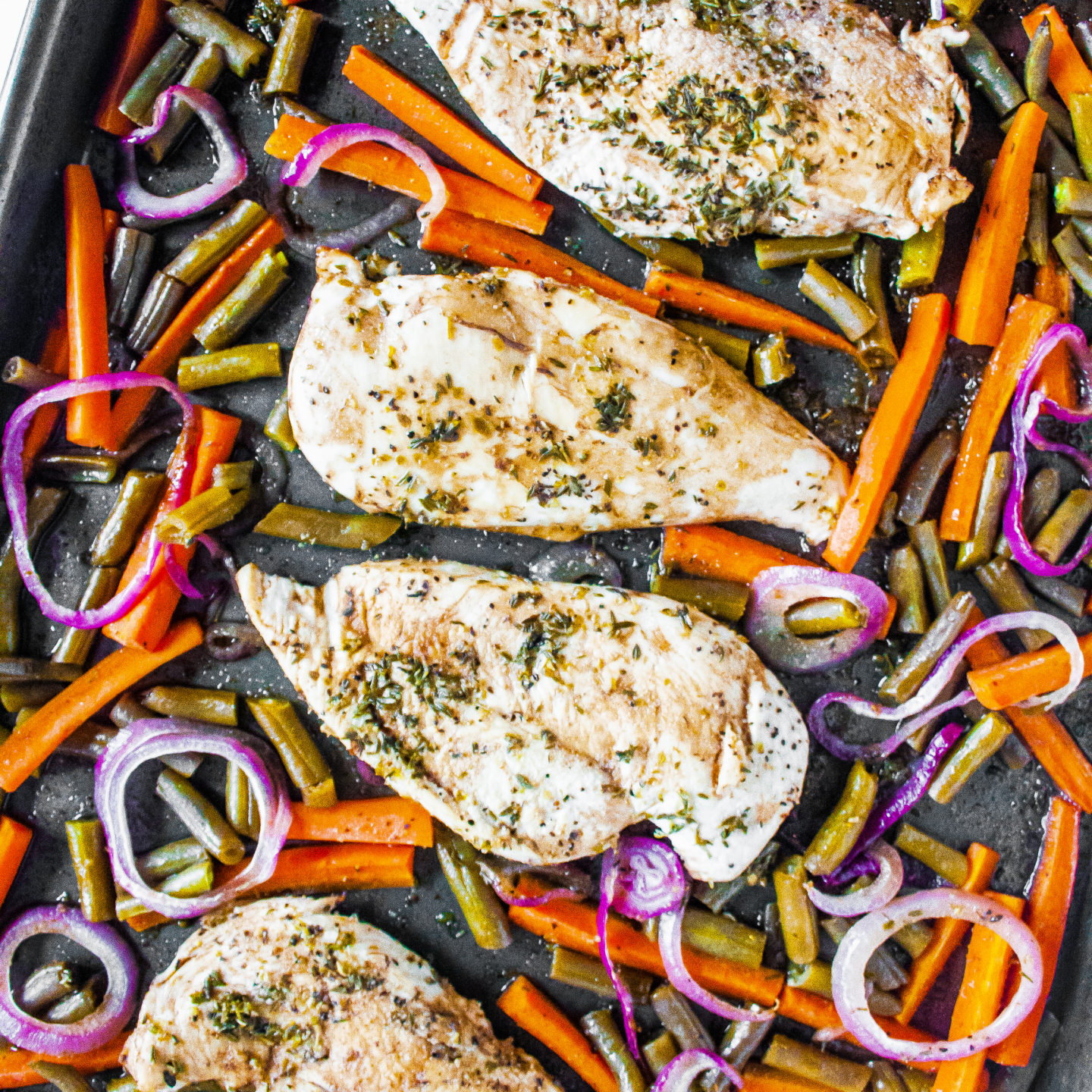 Sheet Pan Chicken and Veggies