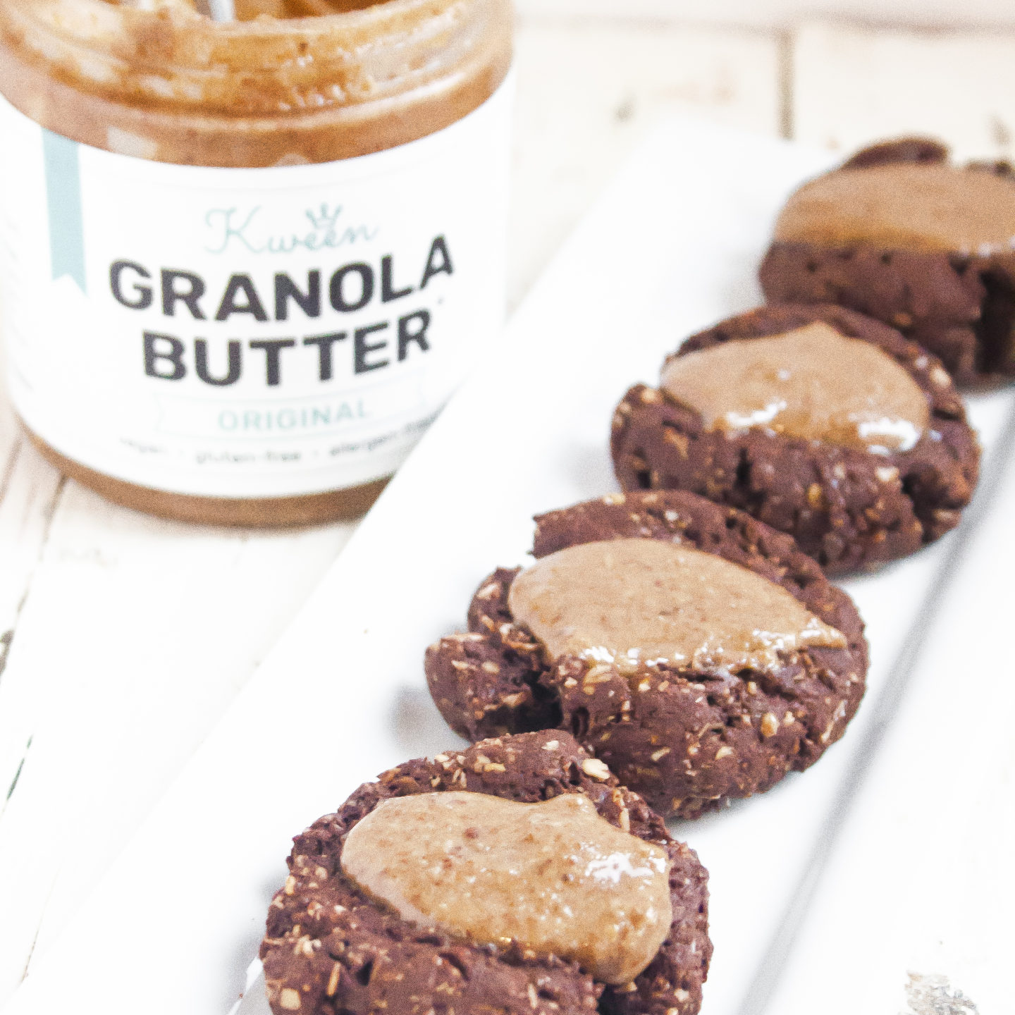 Original Granola Butter Thumbprint Cookies