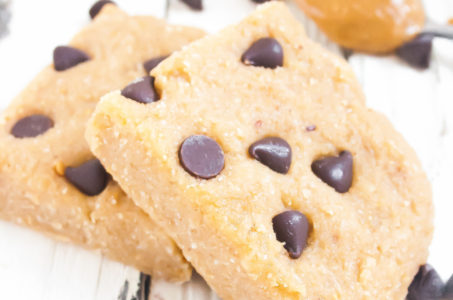 Healthy No Bake Banana Chocolate Chip Bars